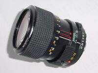 Minolta 35-70mm F/3.5 MD Manual Zoom MACRO Lens ** Ex+