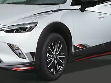 Genuine Mazda CX-3 2018> Black,Red and Silver Body decal side lower -DD2FV3040D3