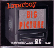 LOVERBOY Big Picture 1TRK RARE PROMO DJ CD Single 1997
