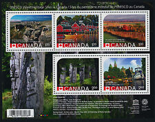 Canada 2739 MNH - UNESCO World Heritage Sites, Rideau Canal