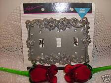 Victorian Antique Vintage Style Rose 3 toggle Light Switch Cover Plate outletNEW