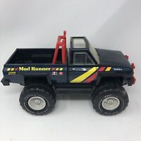 Vintage 1983 Tonka Chevrolet Mud Runner 4X4 Toy Truck Rare Black Pressed Steel