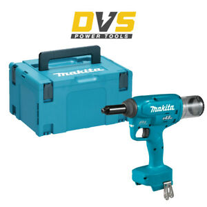 Makita DRV150Z Cordless 18V 10kN 25mm BL Rivet Gun Body Only with Makpac 3 Case