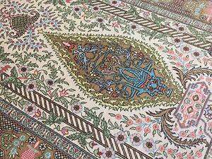 Very fine Turkish Hereke rug %100 Silk 2'3''x3'5''