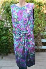 NEW rrp $169.95 Liz Jordan DESIGN Cocktail DRESS Size 1XL. Limited Edition Print