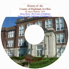 Highland County, Ohio History + Bonus Book
