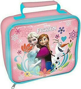 KIDS CHARACTER SCHOOL BOYS GIRLS INSULATED WIPE CLEAN LUNCH BOX BAG