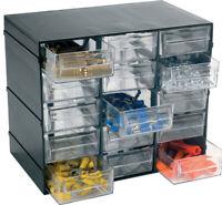 cassetta cassettiera portaminuteria Hobby 15 scomparti cassetti minuteria