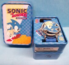 SEGA Sonic the Hedgehog Spinner Watch w/ Collectors Tin Genesis Spin