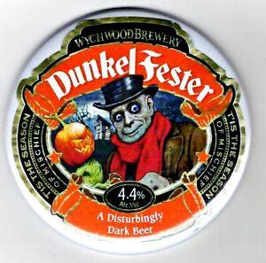"""Dunkel Fester Jumbo Fridge Magnet Dark Lager Mat Bar   3"""" 75mm  Blade Halloween"""