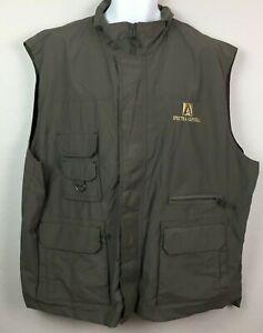 Field & Stream Men's Olive Green Vest Spectra Capital Outdoor Goods Size XXL 3XL