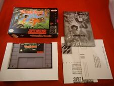 Disney's The Jungle Book Super Nintendo Entertainment System SNES COMPLETE w Box