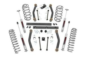 """Rough Country 4"""" Suspension Lift Kit For Jeep Wrangler TJ 1997-2002"""