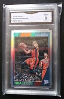 2016-17 Panini NBA Hoops Silver x/99 Russell Westbrook Mint 9 Card