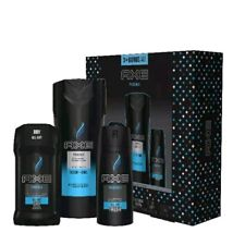 AXE 4-Pc Phoenix Gift Set for Men with BONUS Trial Deo Body Spray (Deo Stick, Bo