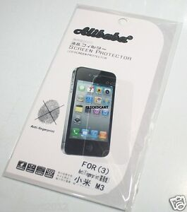 Matte Anti-Fingerprint Screen Protector For Xiaomi Mi 3