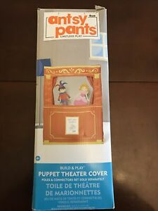 "Antsy Pants Build and Play Puppet Theater Cover 18"" x 40"" x 55""  Limitless Play"