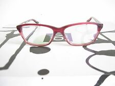 New Red and Pink Eyeglass Frames Italian Design Handmade in Germany
