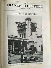 LA FRANCE ILLUSTREE 1925 ANNEE COMPLETE RELIEE