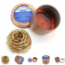 Lead Free Iron Tips Cleaner Alloy Copper Cleaner With Rosin Flux Solder Iron Tip