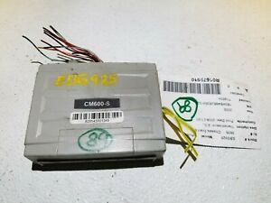 2008 DODGE CALIBER CompuStart remote start CM600-S OEM #89