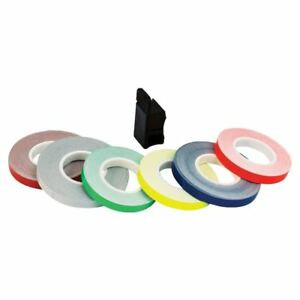 Oxford OF617 Motorcycle Bike Wheel Stripes & Applicator Rim Tape Flo Red