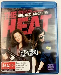 The Heat Melissa McCarthy blu-ray MA15+ Region B with free shipping and Tracking