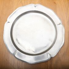 International Silver Company Silverplate Round Bent Platter