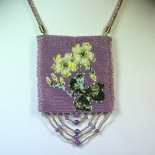 Amulet Bag with Amethyst