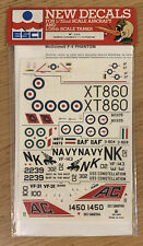 2 ESCI New Decals 1/72nd Scale Aircraft