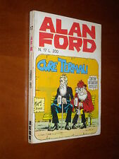 ALAN FORD n. 17 - CURE TERMALI - ADESIVI - MAGNUS - QS/EDICOLA - sett. 1970