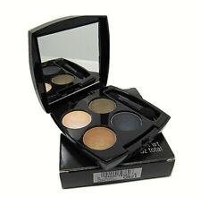 Avon True Color Eyeshadow Quad Attraction Eye Makeup Browns Blue Q921