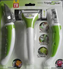 Livington Triple Slicer Spargelschäler, Schlaufenmesser