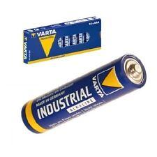 100x VARTA Industrial Micro AAA MN2400 Alkaline 4003 LR03 Hochwertige Batterien