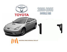 2000-2005 TOYOTA CELICA CAR STEREO DASH INSTALL KIT, with Tool Set