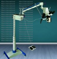 Surgical Microscope 5 Step LED Floor Type ,45° Binocular Fixed 110/220V