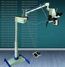 Surgical Microscope 5 Step LED Floor Type ,45° Binocular Fixed 110/220V