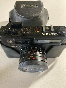 Yashica Electro 35 35mm Rangefinder Film Camera with Case