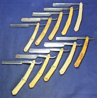 (10) Straight Razor Lot - Hollow Ground - Estate - Vintage - Lot #10