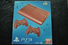 Playstation 3/PS3 500GB Super Slim Red Console Boxed
