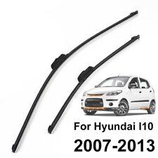 """FÜR Hyundai I10 MK1 07-13 SCHEIBENWISCHER WISCHERBLÄTTER SET VORNE 22""""16"""""""
