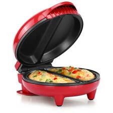 New listing Holstein Housewares Hh-09125007R Omelet Maker, Red New