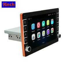 1Din 9In Android 8.1 1080P Quad-core 1+16GB Stereo Radio W/GPS Wifi 3/4G BT DAB