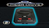 Stock! SEGA MEGA DRIVE 2 Portable Game Console + Mortal kombat 3 ultimate casset