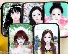 Makeup Enamel Pouch multi black Cosmetic Bag travel case free gift