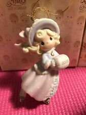 """2002 Precious Moments Ornament """"May Your Holidays Sparkle With Joy"""" #104203"""