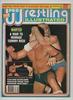 Pro Wrestling Illustrated  Sept 1982 Blackjack Mulligan Jr Tommy Rich