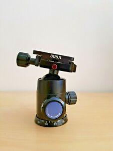 Sirui G-20KX Professional Ball Head With Quick Mounting Plate