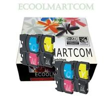 8 * INK FOR LC61 BROTHER PRINTER MFC-250C MFC-255CW MFC-257CW MFC290C MFC-295CN
