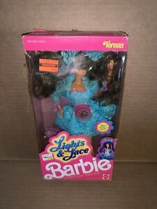 Vintage 1994 Lights & Lace Barbie Teresa Doll New